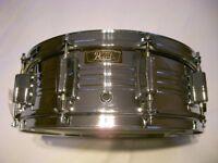 "Pearl 4214 Custom COB snare drum 14 x 5 1/2"" - Japan - '70s- Ludwig 400 homage"