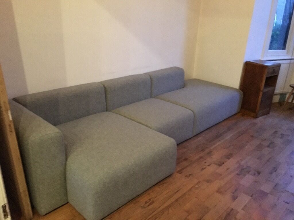 hay modular corner sofa three section sofa only 6 months old in lambeth london gumtree. Black Bedroom Furniture Sets. Home Design Ideas
