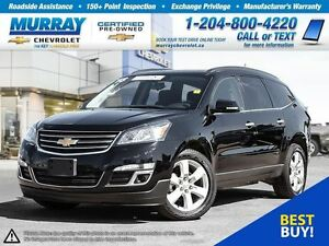 2016 Chevrolet Traverse LT 1LT *Keyless Entry, Remote Start, Cli