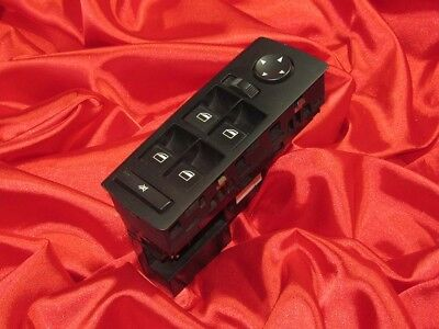 BMW E53 X5 series RHD DRIVER's DOOR WINDOW LIFTER SWITCH MIRROR REGULATOR BUTTON