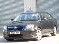 2009 TOYOTA AVENSIS- FULL HISTORY- 2 KEYS- SUPERB DRIVE- HPI CLEAR- READY TO GO