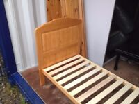 cot bed pine £35 free delivery