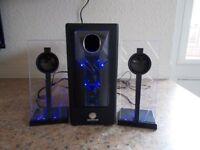 BassPulse stereo speakers