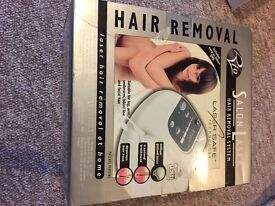 Laser Hair removal system. With DVD. 4 second treatment. Boxed.