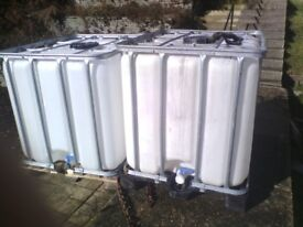 Water container 1000ltr