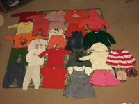 Used baby girls clothes . in good condition.