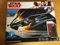 Star Wars Force Link Kylo Ren's TIE Silencer and Pilot Figure