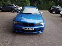2002 BMW 330CI 3.0 CLUBSPORT MANUAL 3 Series Coupe - Estoril Blue Exclusive Clubsport Colour