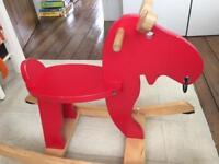 Ikea reindeer rocker toy