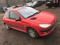 PEUGEOT 2061.2 LX 3DR 2002 ***LADY OWNED****