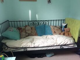Ikea day bed and memory foam matress