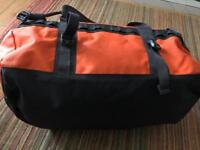 North face small orange /base camp duffel