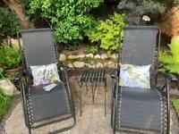 Summer Cushions set & Matching Glasses / Pen case Garden flowers