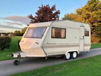 Bessacarr Cameo 420GL twin axle two berth caravan