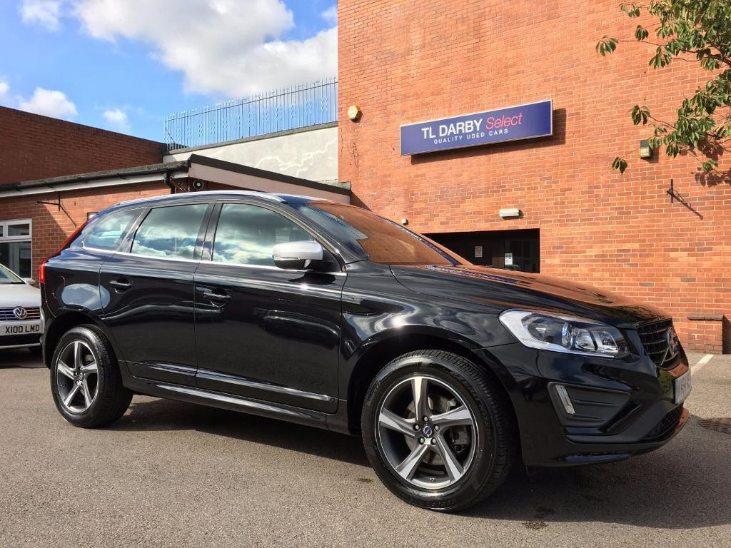volvo xc60 d5 215 r design lux nav 5dr awd geartronic black 2014 in burton on trent. Black Bedroom Furniture Sets. Home Design Ideas