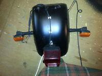 Harley Davidson 280 / 300 Rear Mudguard / Fender Custom etc Milwaukee Iron