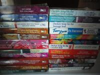 Loads of Chicken Soup Books