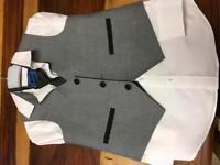 Waste coat set