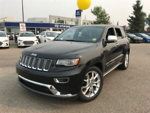 2014 Jeep Grand Cherokee Summit- LEATHER HEATED & VENTED SEATS