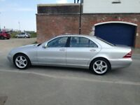 2001 51 Mercedes S320 CDI L Auto 96000 3 owners from new Full Mercedes Service History New MOT Mint