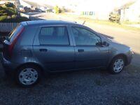 Fiat Punto, 53 plate, 6 months MOT, £350 ONO