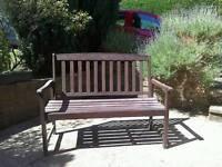 Garden bench 4ft 2seater wood