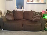 Dfs poise pillow back sofas and foot stall