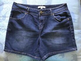 Denim Shorts size 14