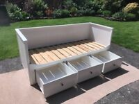 Ikea Hemnes day bed sofa single/double bed