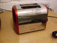 Red Breville Toaster - working order