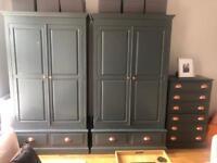 Upholstered Pine Wardrobes & Drawers