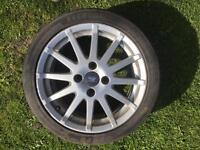 Ford Fiesta 16'' alloy wheel zetec s st