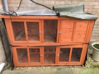 Large guinea pig/rabbit hutch