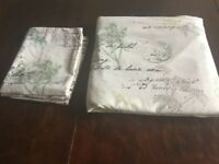 Nice cotton feel double duvet set (cover & 2 pillow cases)