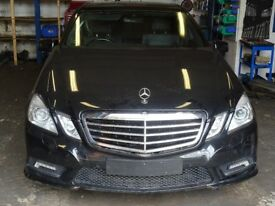 BREAKING FOR PARTS MERCEDES W212 E250 CDI SPORT AUTO 7 SPEED SALOON 2011