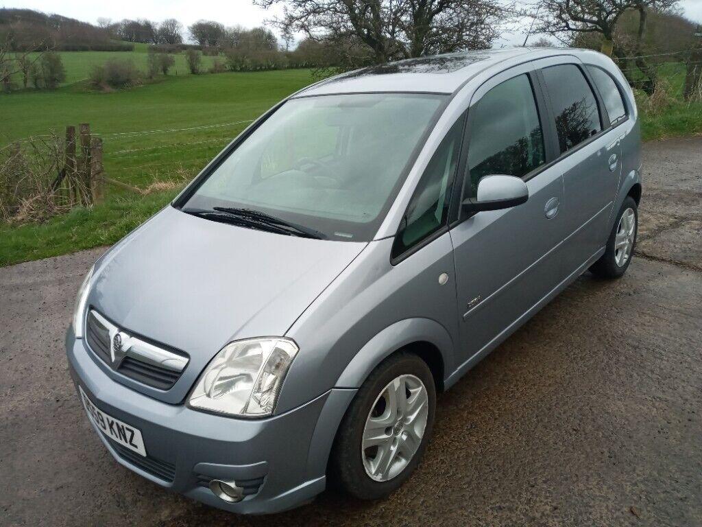 Vauxhall, MERIVA, MPV, 2010, Manual, 1598 (cc), 5 doors