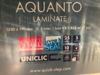 B&Q Aquanto Grey laminate - 3 packs