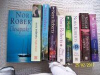 9 X NORA ROBERTS BOOKS