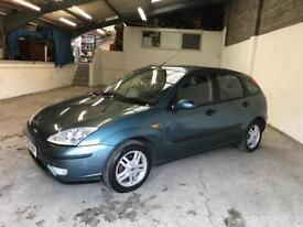 Ford Focus 1.6 petrol zetec New MOT