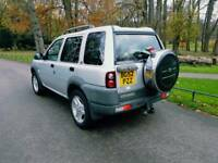 LAND ROVER FREELANDER TD4 PRIMIUM BMW ENGINE LEATHER SUNROOF HEATED TOWBAR £1650 CRV RAV4
