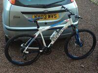 "Carrera kraken mountain bike 20"" frame swap"