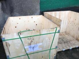 Crates pallets boxes box pallet