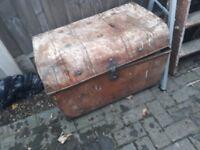 Old Tin Trunk