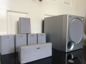 SONY SA-WMSP76, 6.1 HOME CINEMA SPEAKERS, FULLY WORKING, IMMACULATE CONDITION, LOUD & CLEAR SOUND.
