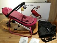 rio concord baby rocker chair - boxed - like new