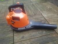Vintage stihl bg60av handheld leaf blower in excellent condition,bg86c