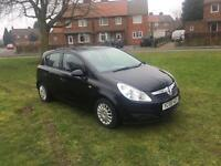 2009 Vauxhall corsa 1.2 life a/c model 45k with history low miles