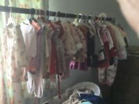 Baby clothes girl and boy 76 items ranging from 0-3 up to 6-9 months