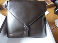 Dupont women's shoulder Leather hand bag brand New still in box