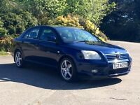 Toyota Avensis Petrol Full Mot Full Service History Mint Condition